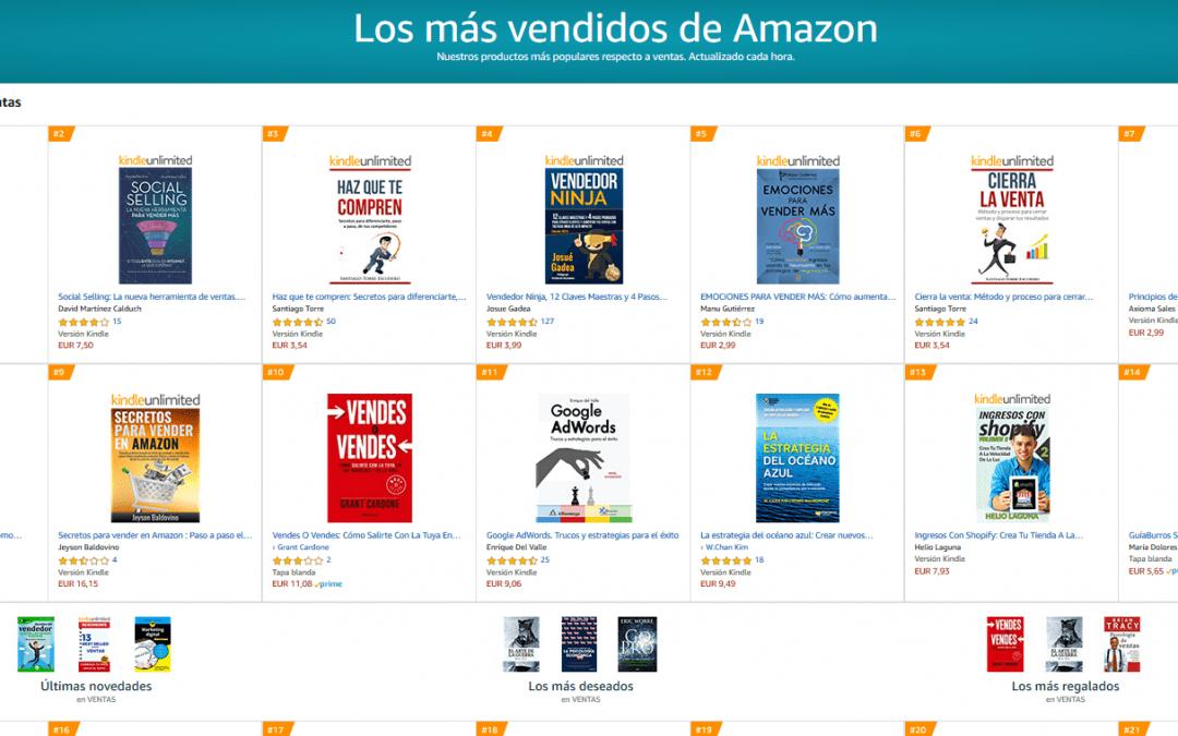 Éxito en Amazon del GuíaBurros: Los secretos del vendedor, de María Dolores Rodríguez