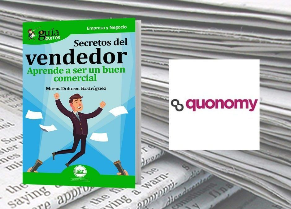 El «GuíaBurros: Secretos del vendedor» en la revista digital Quonomy.com