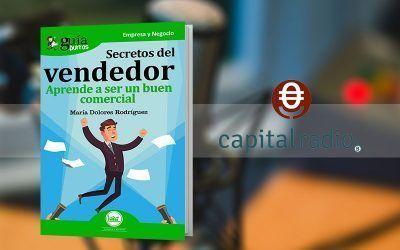 """Lola Rodríguez habla de su """"GuíaBurros: Secretos del vendedor"""" en «Franquicia2», programa de Capital Radio"""